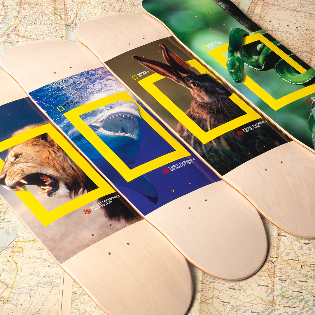 National Geographic Element Skateboards 1