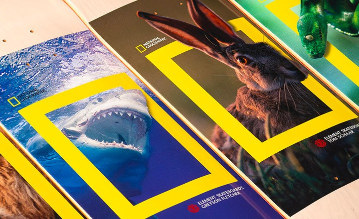 National Geographic Element Skateboards