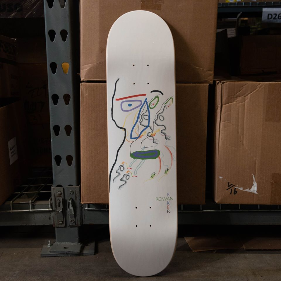 Slumber Series By Brian Degraw Baker Skateboards 3