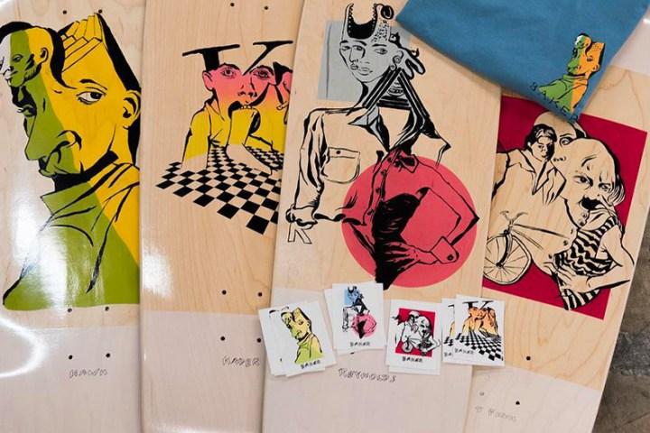 Mind Bends By Spanky Baker Skateboards