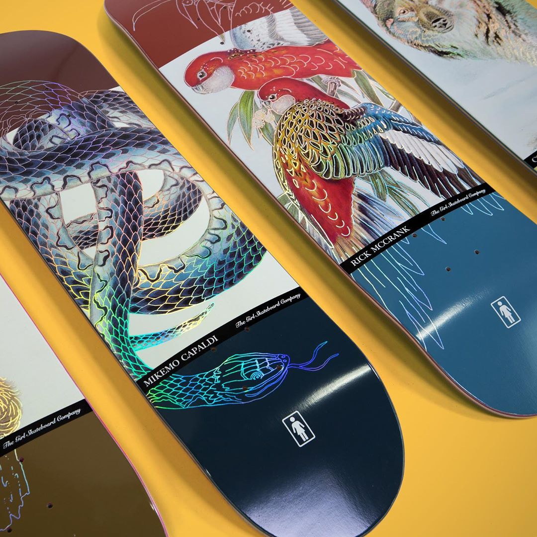 Ecol OG Series Par Girl Skateboards 4