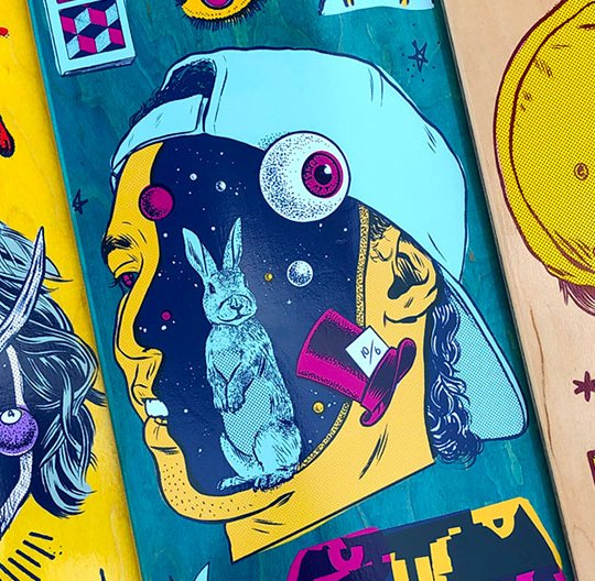 Morning Breath Inc Darkstar Skateboards 24