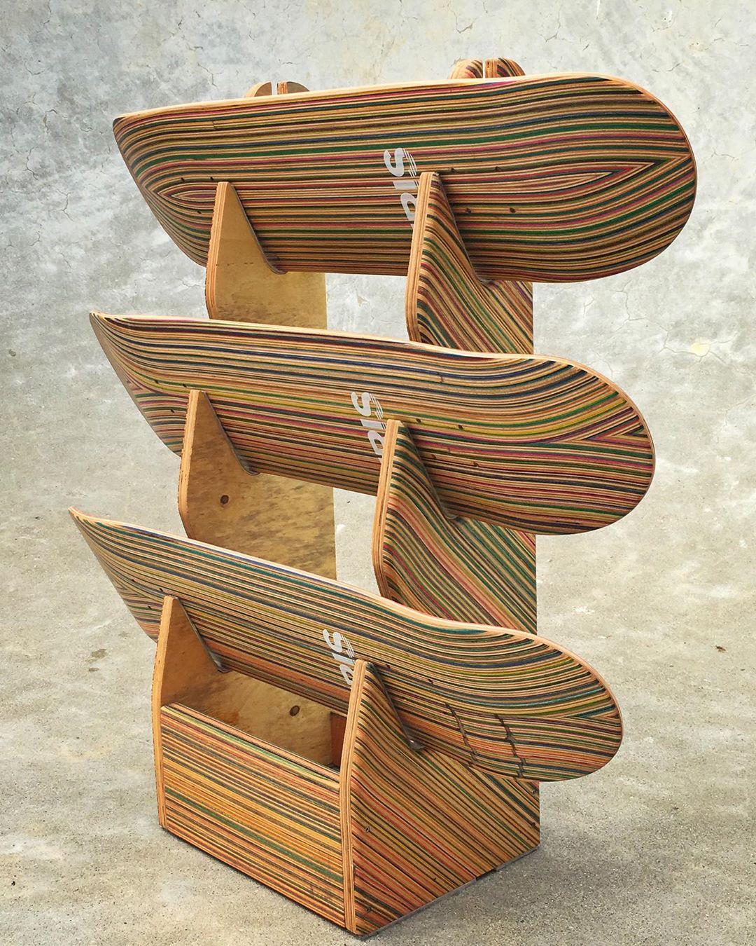 Recycled Decks By Iris Skateboards 6