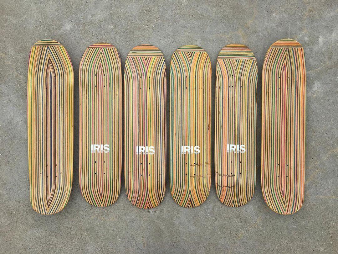 Recycled Decks By Iris Skateboards 7