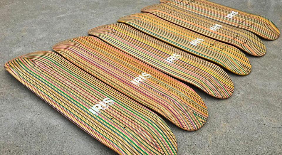 Recycled Decks By Iris Skateboards 2