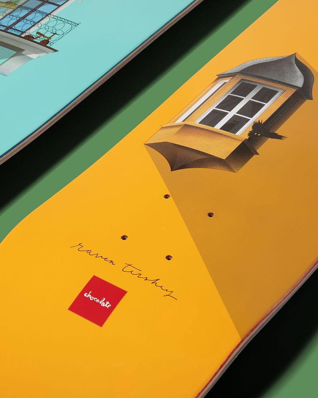 Windows Series Chocolate Skateboards 3