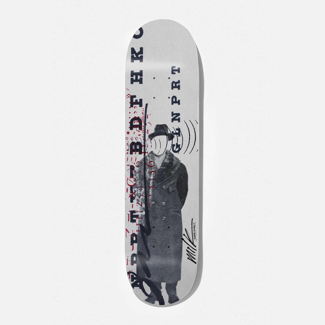 Beto Janz Milk Skateboards 12