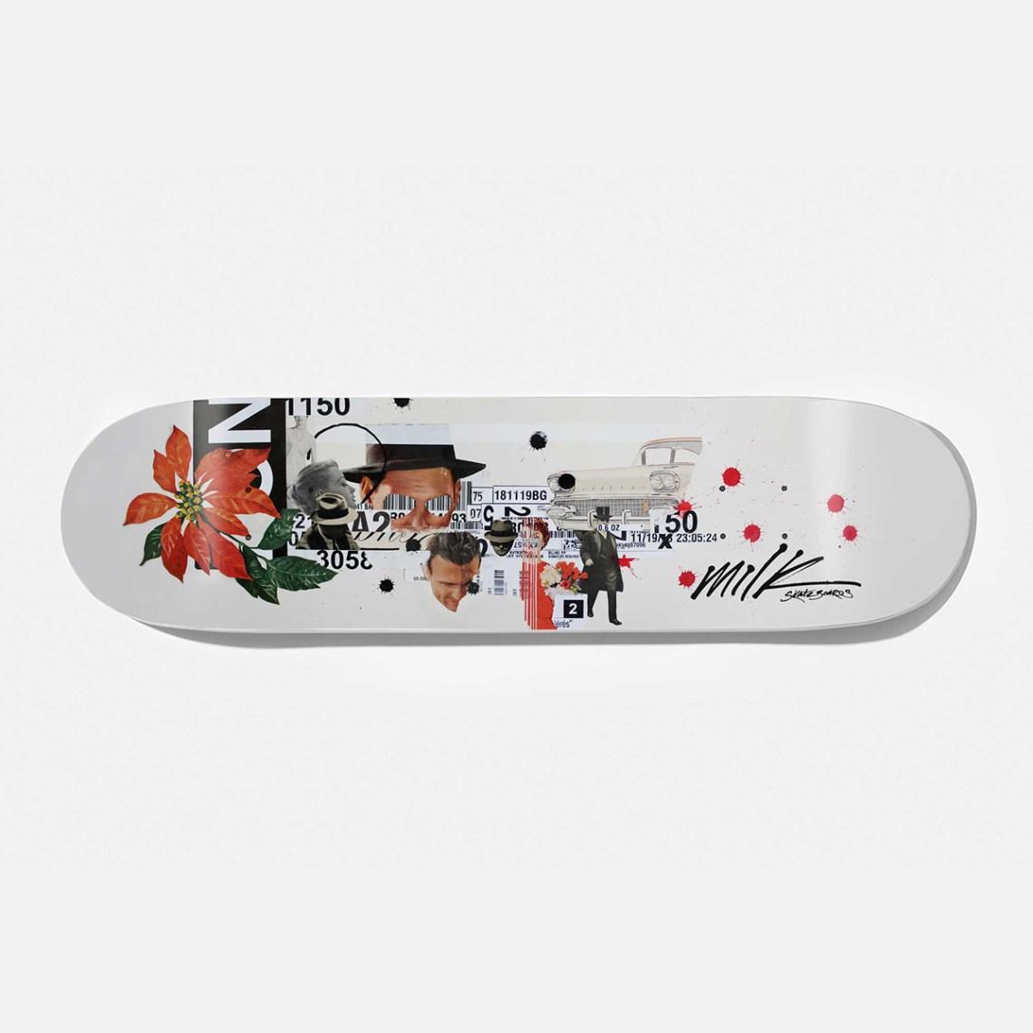 Beto Janz Milk Skateboards 15