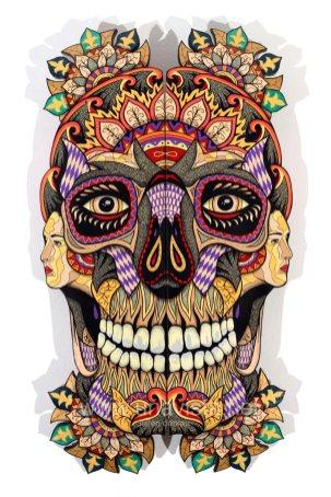 Skull XV, 2015