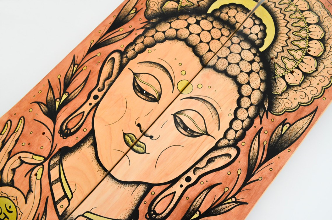 Bouddha Custom Skateboards By Subson Ink 5