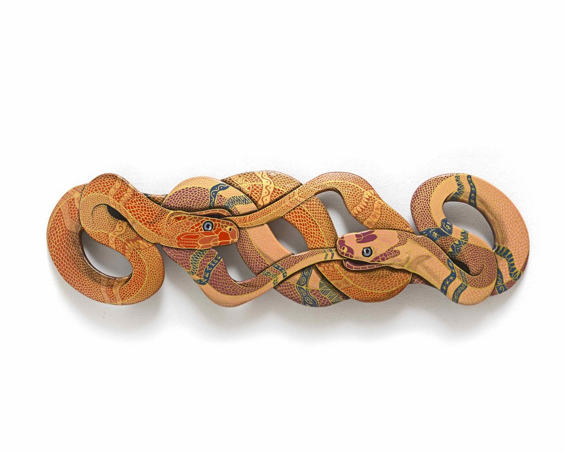 Oroboro Snake Synthesis Artwork By Julien Deniau