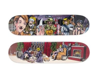 Skateboard Auction Supreme Christies Ny16