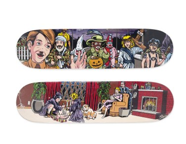 Skateboard Auction Supreme Christies Ny16