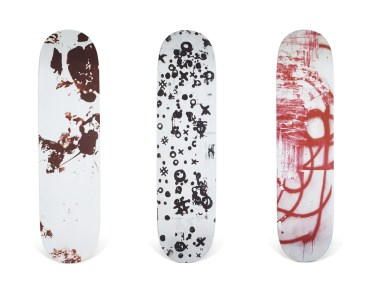 Skateboard Auction Supreme Christies Ny17