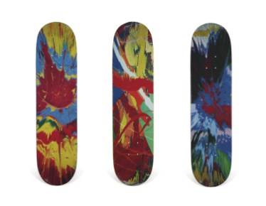 Skateboard Auction Supreme Christies Ny19