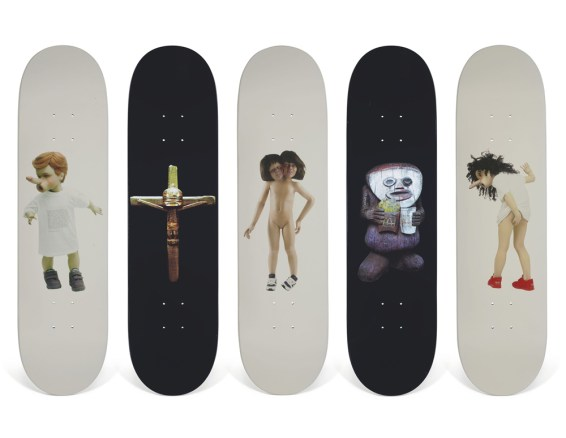 Skateboard Auction Supreme Christies Ny32