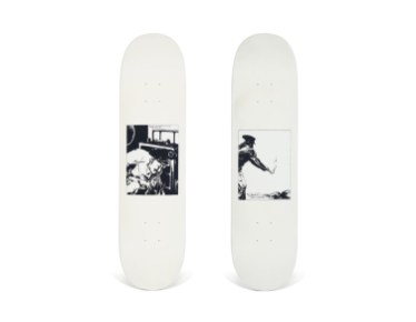 Skateboard Auction Supreme Christies Ny35