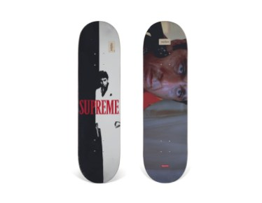 Skateboard Auction Supreme Christies Ny39