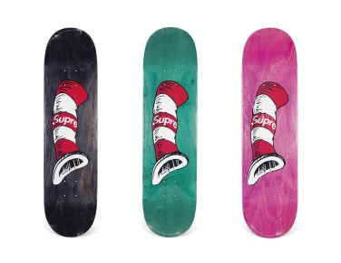 Skateboard Auction Supreme Christies Ny42