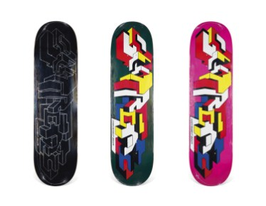 Skateboard Auction Supreme Christies Ny45