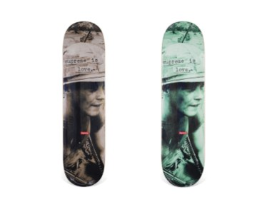 Skateboard Auction Supreme Christies Ny46