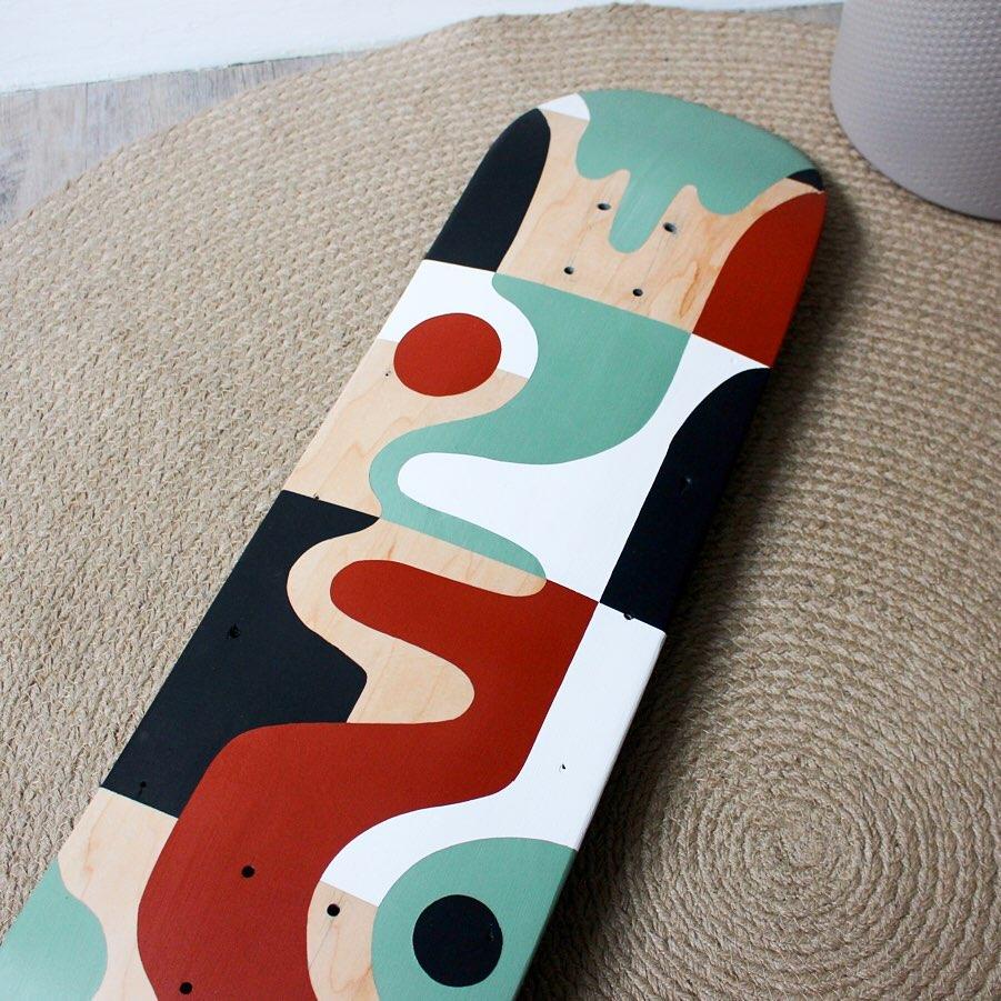 The Beanstalk Skateboard Par Barthélémy Lanzini (1)