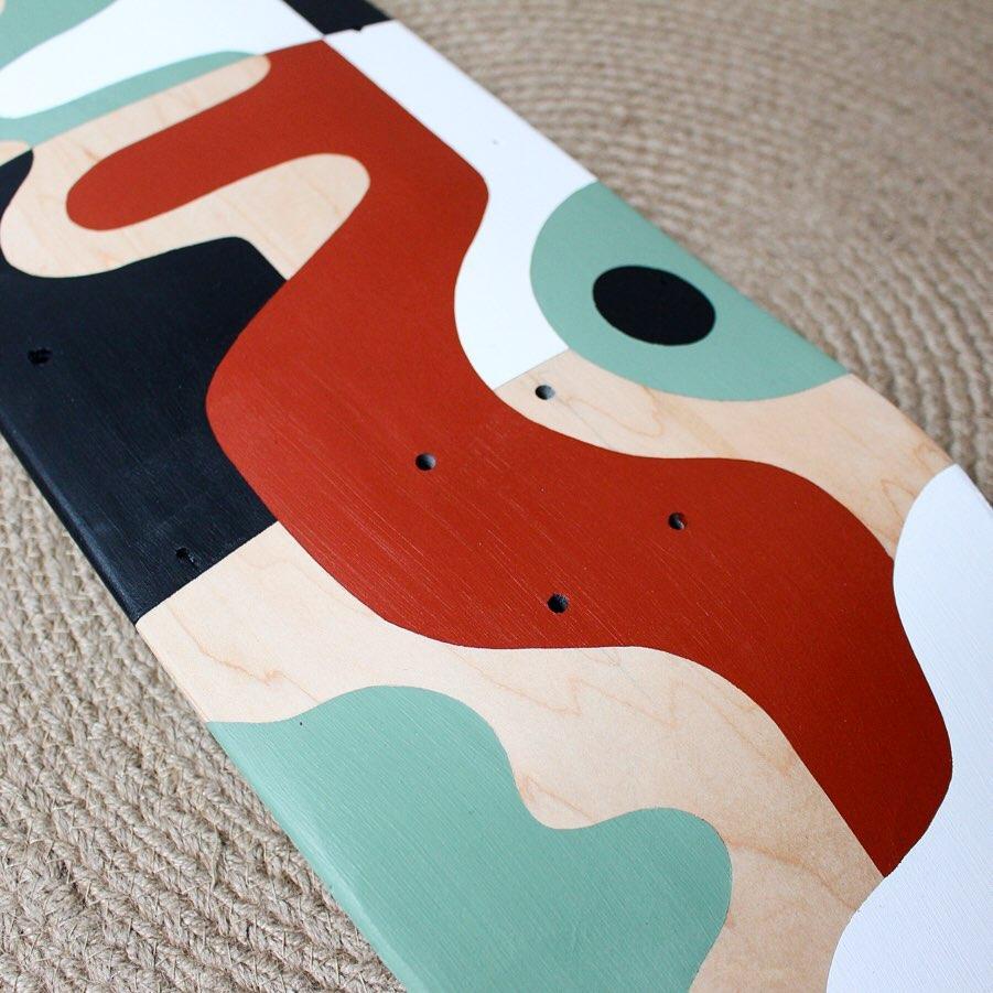 The Beanstalk Skateboard Par Barthélémy Lanzini (2)