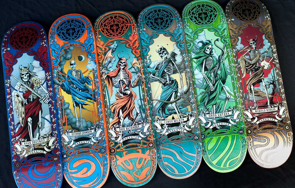 Celtic Pro Series By Darkstar Skateboards 1