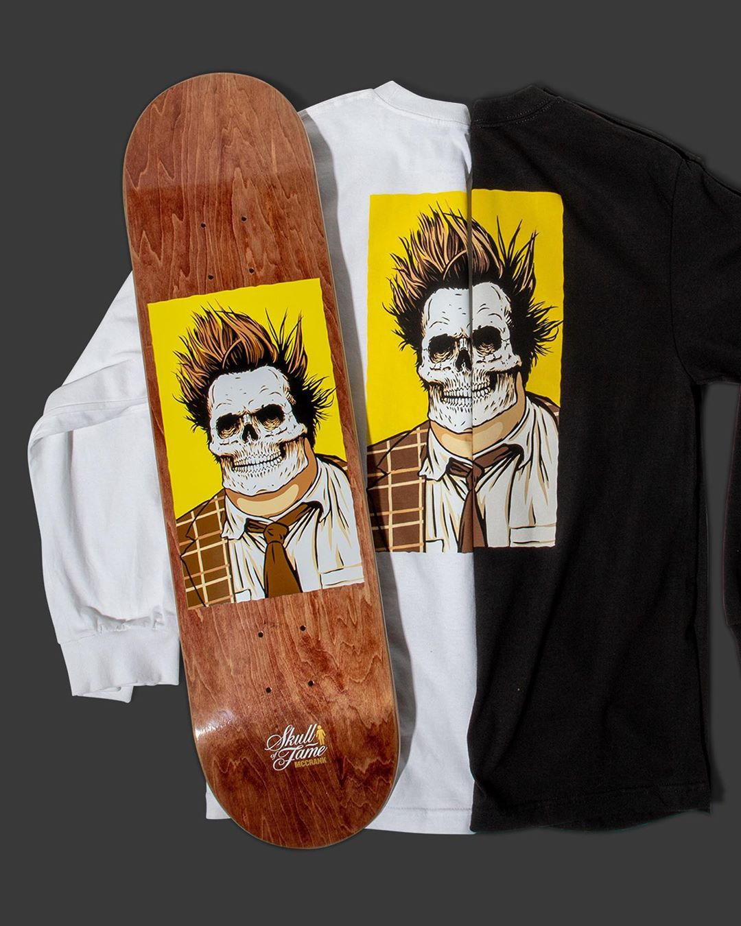 Skull Of Fame Series By Sean Cliver Girl Skateboards 14