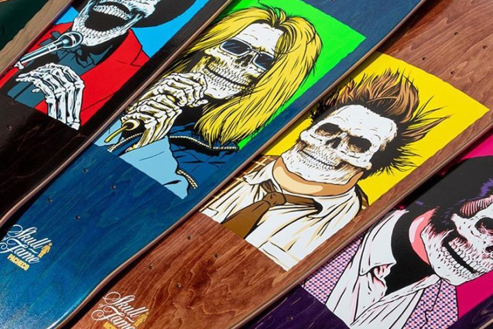 Skull Of Fame Series By Sean Cliver Girl Skateboards 3