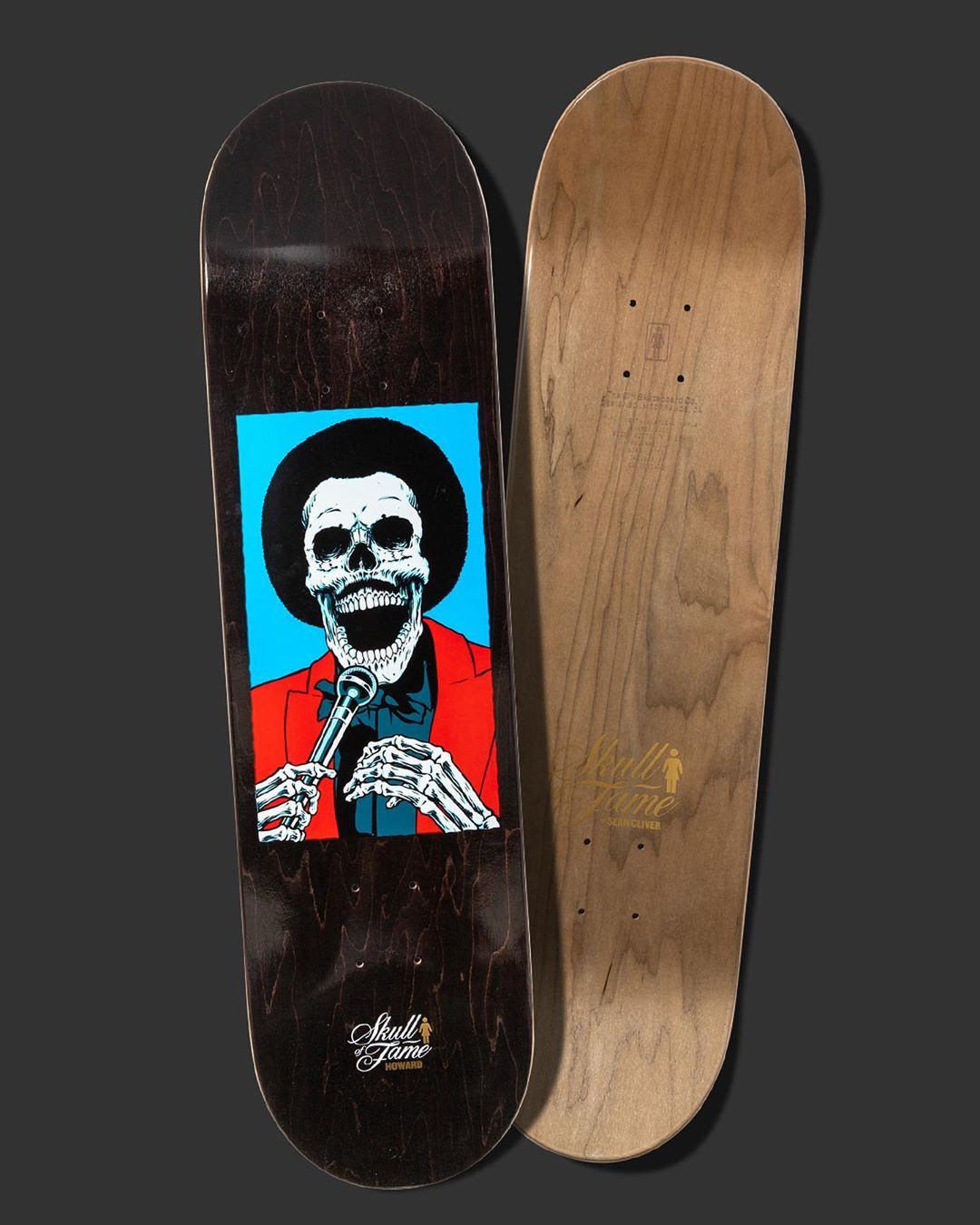 Skull Of Fame Series By Sean Cliver Girl Skateboards 9