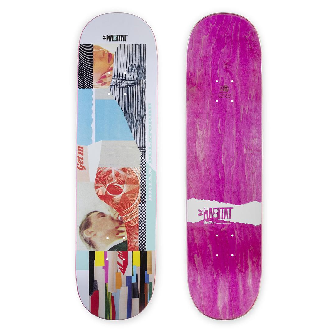 Collage Series Par Johanna Goodman X Habitat Skateboards002