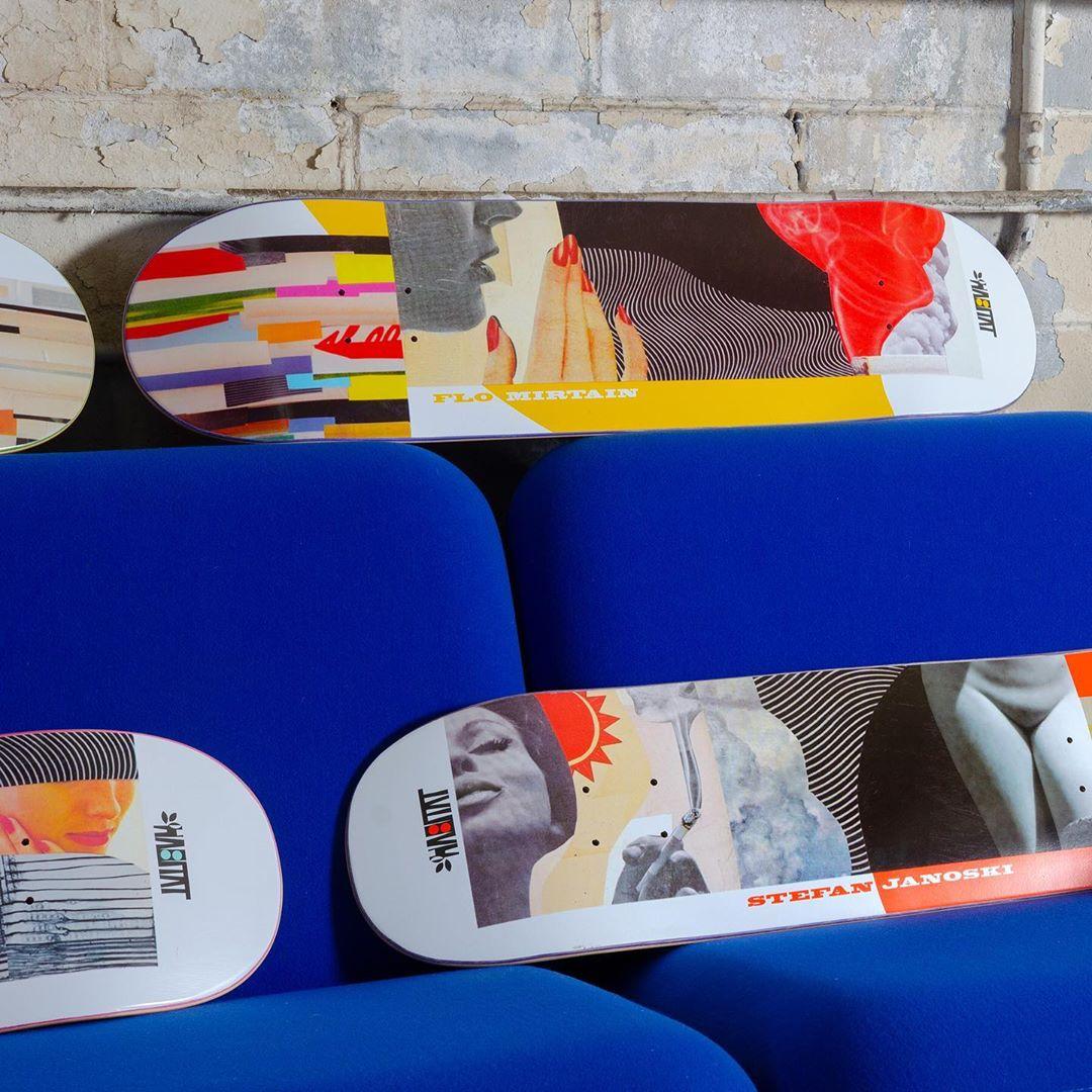 Collage Series Par Johanna Goodman X Habitat Skateboards1
