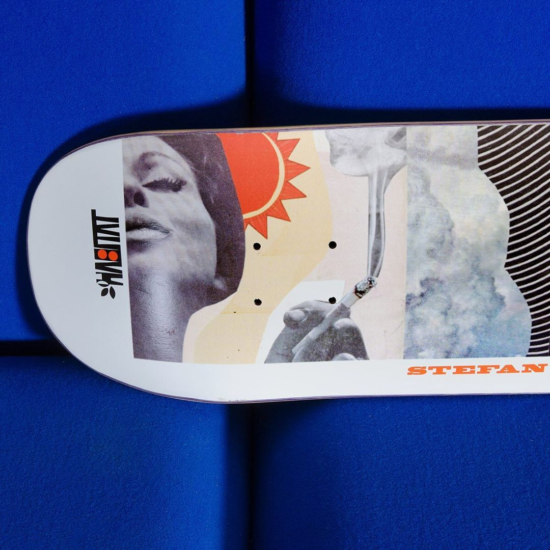 Collage Series Par Johanna Goodman X Habitat Skateboards5