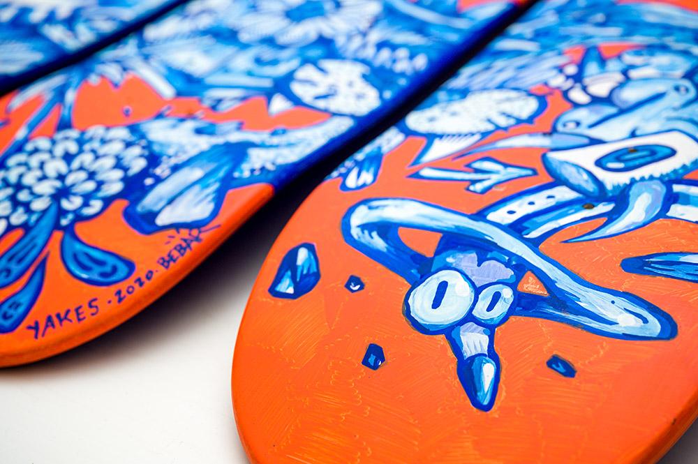 Manuals Skateboards Par Yakes X Bebar 4