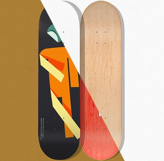 Suketo Skateboard Deck Mockup