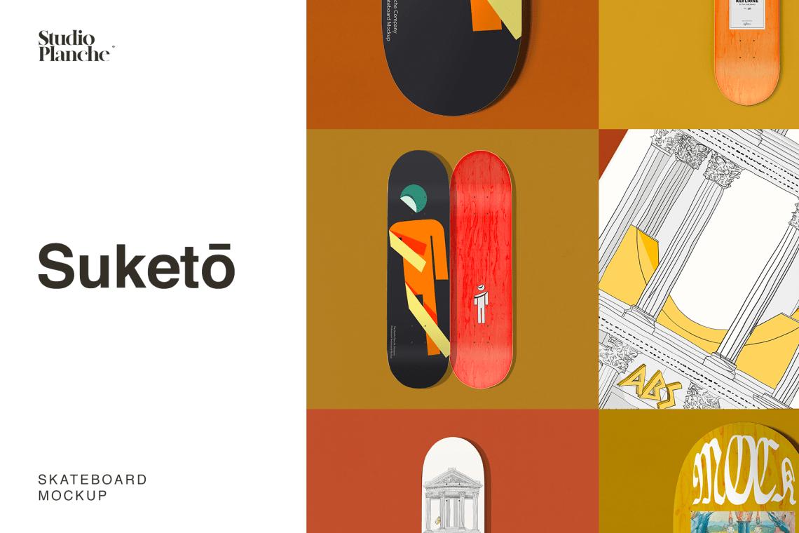 Suketo Skateboard Mockup 1