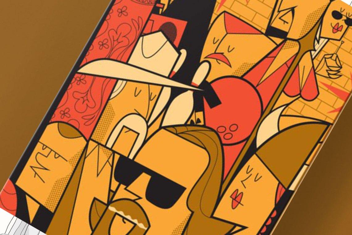 The Big Lebowski Skate Deck By Ale Giorgini X Bonobolabo 2