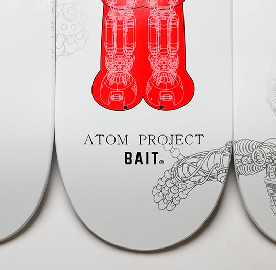 Bait Astro Boy Atom Project Glow In The Dark Skateboard 1