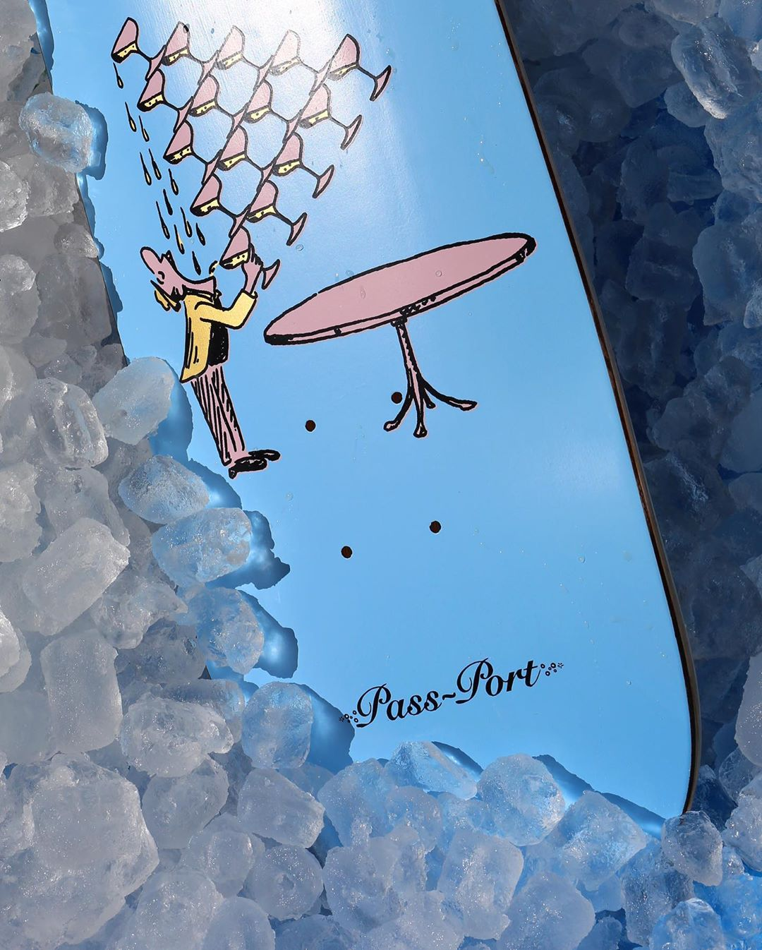 Champagne Series By Pass Port Skateboards 3