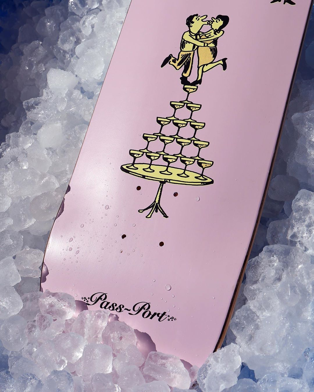 Champagne Series By Pass Port Skateboards 7