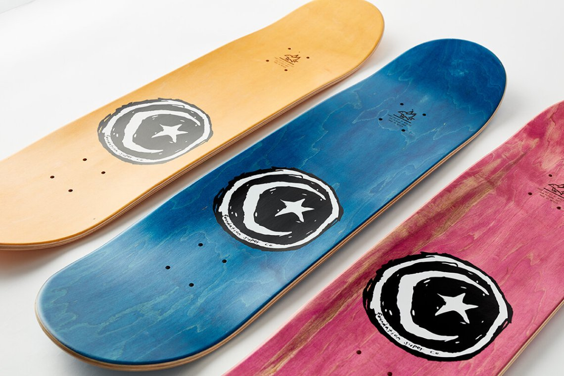 Old Guys Series By Brother Merle X Foundation Skateboards 10
