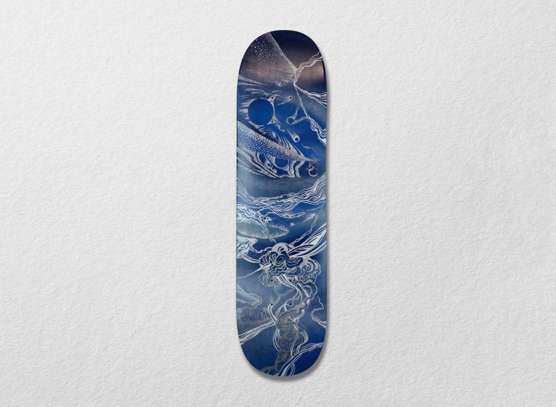 Cosmos Skateboards Series Par Mathias Costa 6