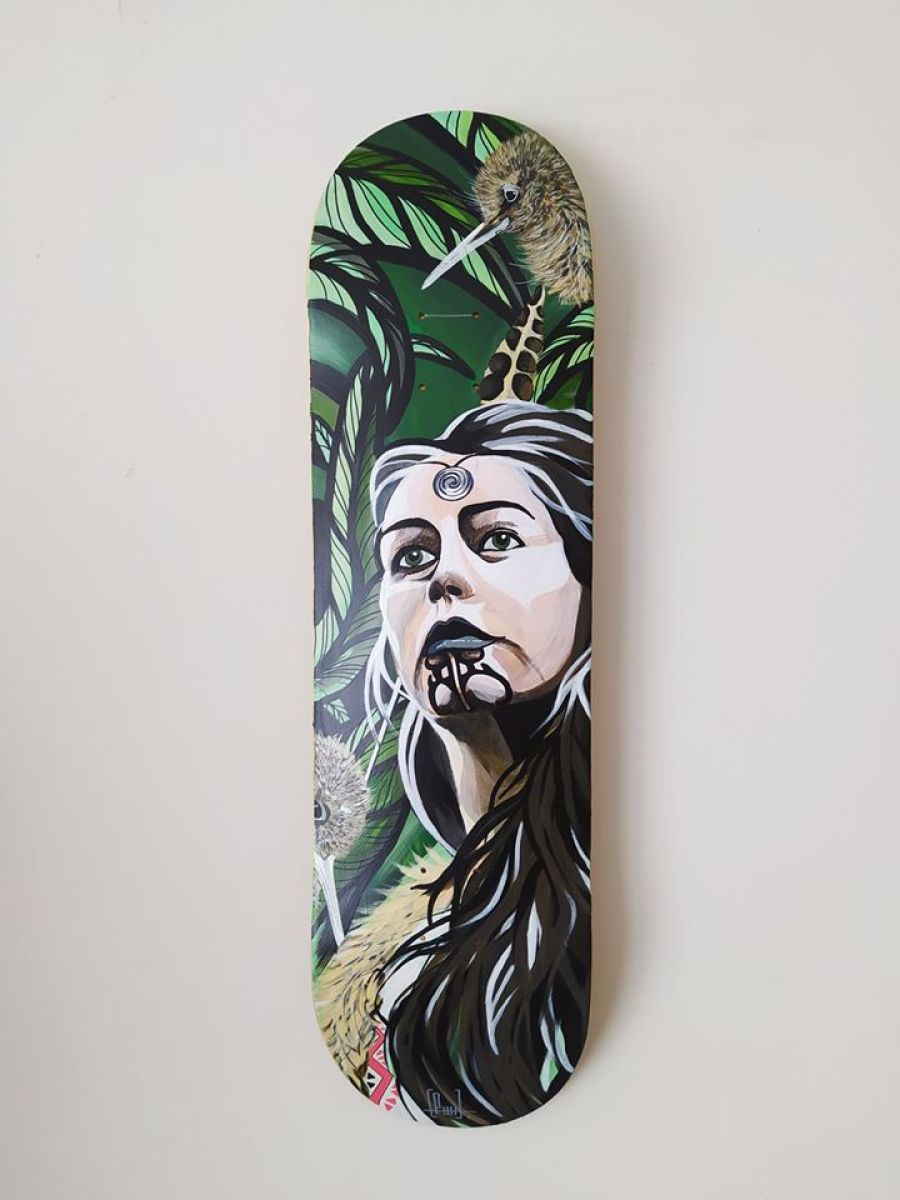Custom Skateboards Par Piwi Pour L European Custom Board Show 6