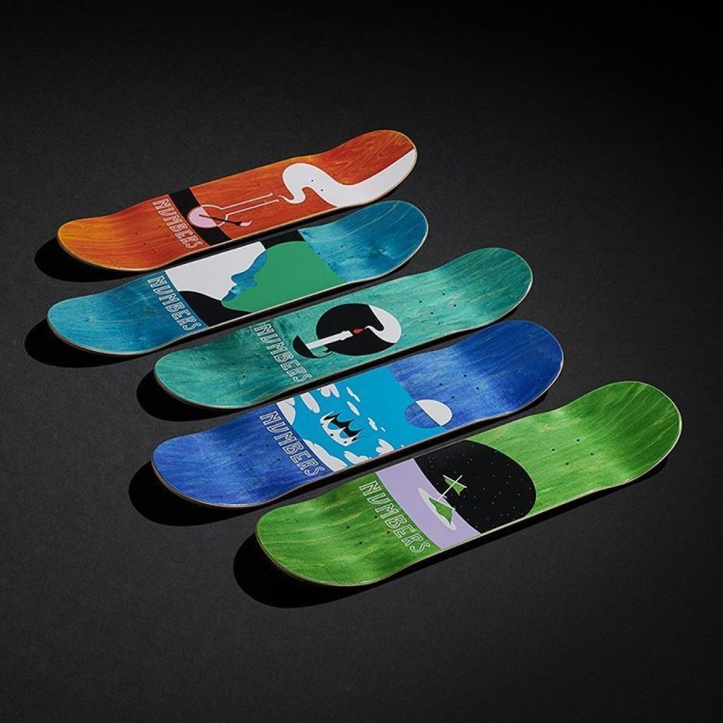 6 Series By Greg Ito Numbers Skateboards 1