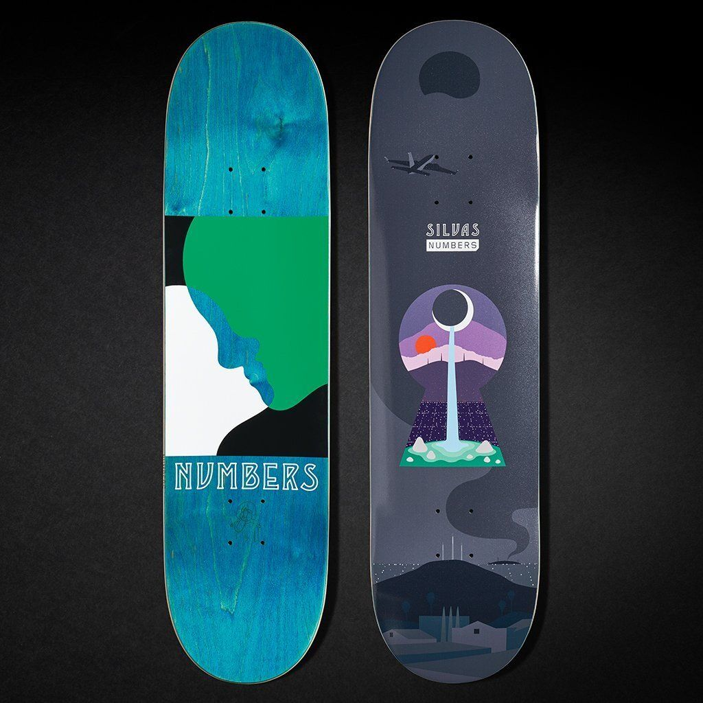 6 Series By Greg Ito Numbers Skateboards 4