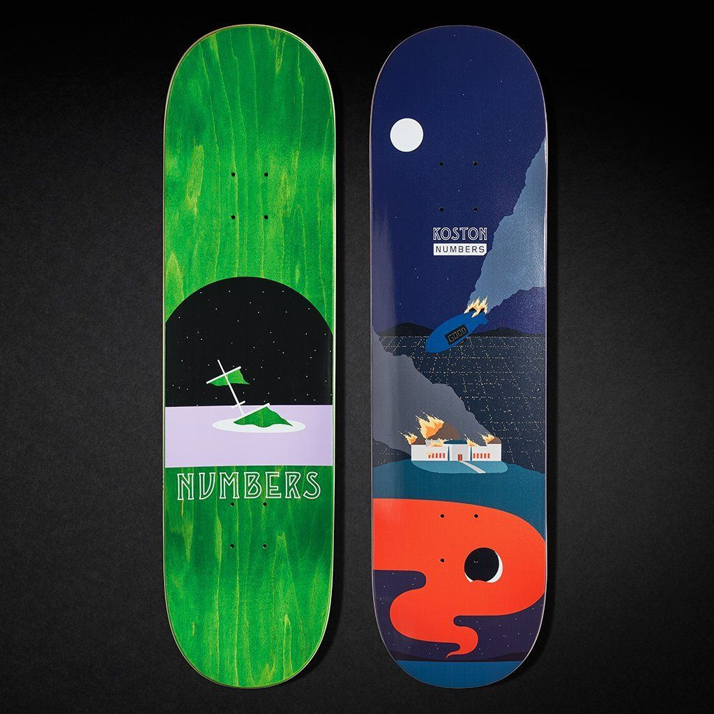 6 Series By Greg Ito Numbers Skateboards 6