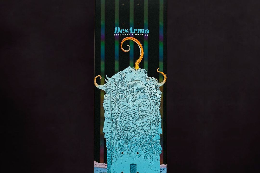 Moebius X Primitive Skateboards 9