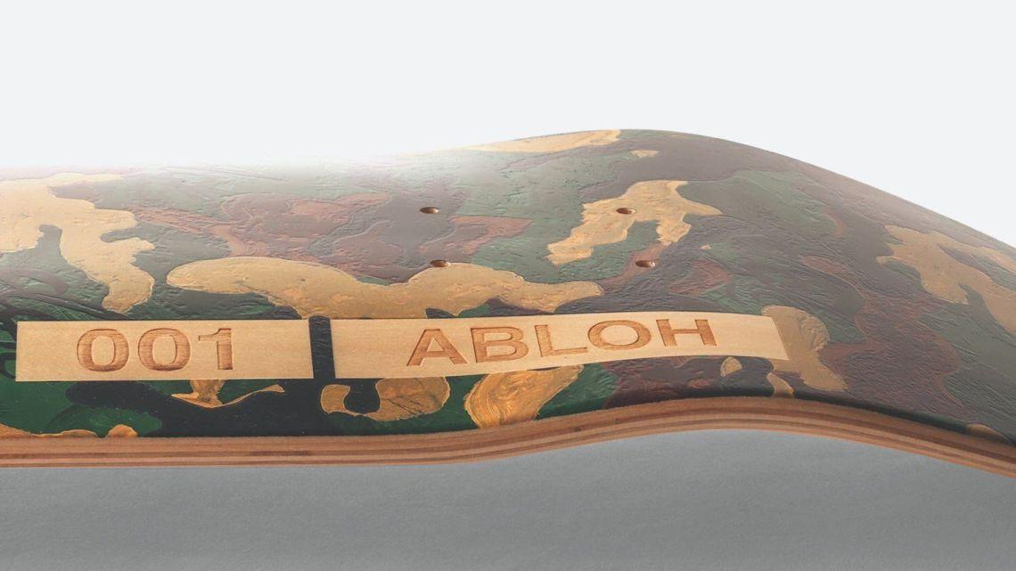 Williams Abloh Skateboard By Virgil Abloh Dgk 5