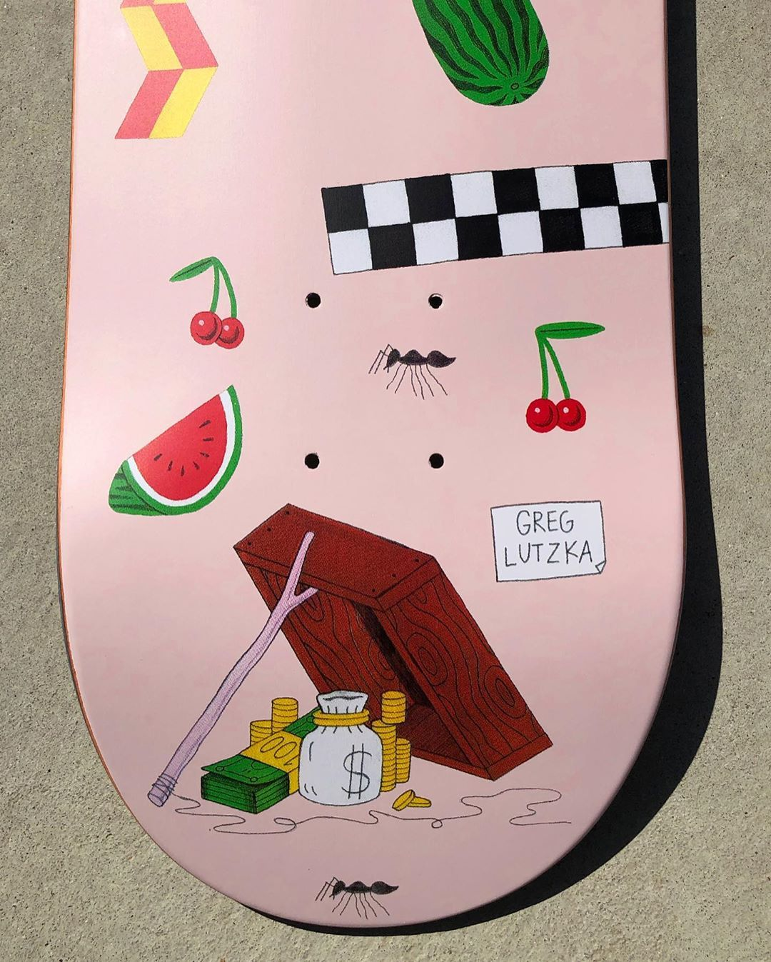 Guest Artist Pro Series By Luke Pelletier X Darkstar Skate 1